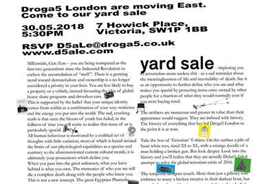 "Droga5 London ""Yard sale"" (in-house)"
