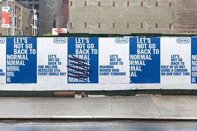 """Durex """"Let's not go back to normal"""" by Havas London"""