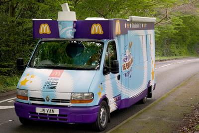 McDonald's 'Mixed Up Maps' by Razorfish
