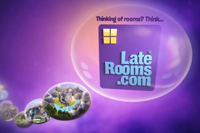 LateRooms.com 'ideas for the weekend' by Beattie McGuinness Bungay