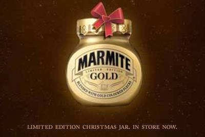Marmite 'early Xmas' by Adam & Eve/DDB