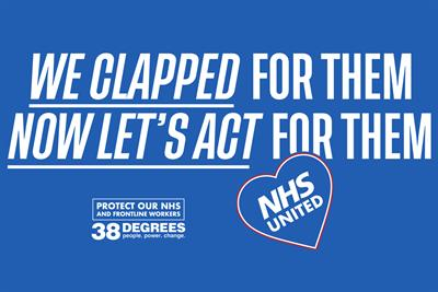 "38 Degrees ""NHS United"" by And Rising"