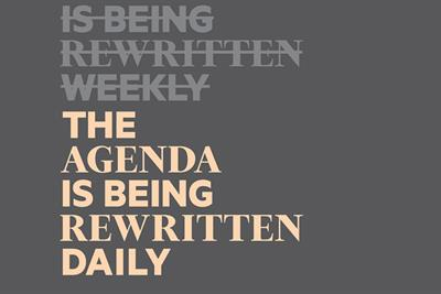 """The Financial Times """"The agenda is being rewritten daily"""" by The Brooklyn Brothers"""