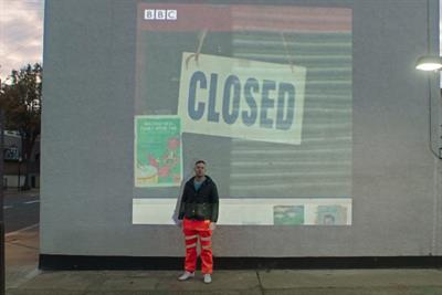 """BBC News """"The future's not cancelled"""" by BBC Creative"""