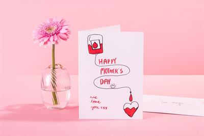 "Moonpig and NHSBT ""Give a gift that saves lives for Mother's Day"" (in-house)"