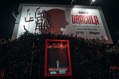 "BBC ""Dracula"" by BBC Creative"