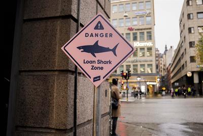 """Anyfin """"Loan shark zones"""" by Acne"""