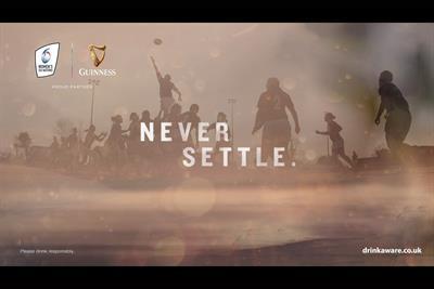 """Guinness """"Never settle"""" by We Are Social Sport"""