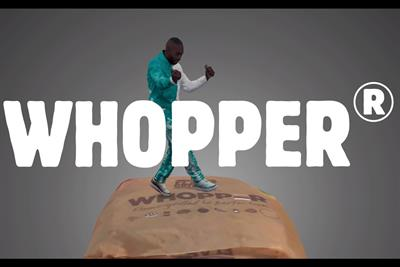 "Burger King ""Tiny Tinie performs Whoppa on a Whopper"" by BBH"