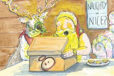 "Innocent ""A jolly safe Christmas"" by BMB"