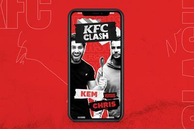 "KFC ""KFC clash"" by Mother London"