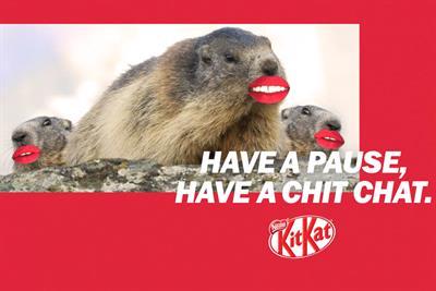 """KitKat """"Have a break, have a KitKat"""" by Wunderman Thompson"""