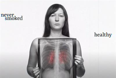 """""""See through the symptoms"""" by Engine Creative"""
