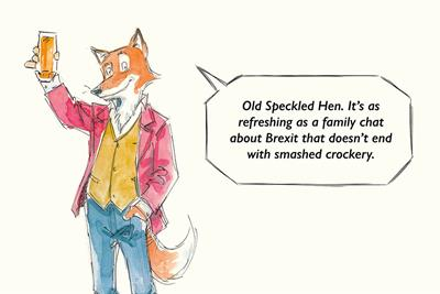 """Old Speckled Hen """"Drink curious"""" by Isobel"""