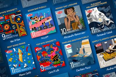 """Barilla """"Playlist timer"""" by Publicis Italy"""