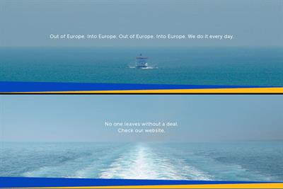 "P&O Ferries ""Brexit reassurance campaign"" by Publicis Poke"