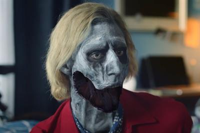 "Pringles ""Meet zombie Frank"" by Grey"