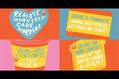 """The Care Workers Charity """"Remote workers for care workers"""" by Our Design Agency"""