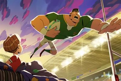 """ITV """"Rise for the Rugby World Cup"""" by ITV Creative"""