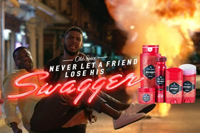"Old Spice ""Never let a friend lose his swagger"" from Wieden & Kennedy Portland"