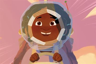 """WaterAid """"The girl who built a rocket"""" by Don't Panic"""