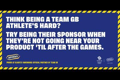 "McVitie's ""Team GB partnership"" by TBWA\London"