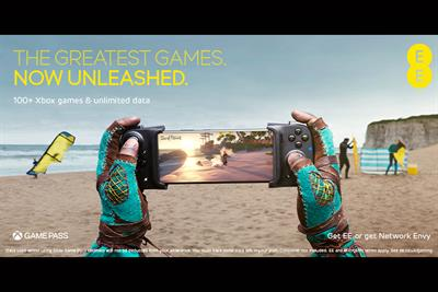 "EE ""Gaming unleashed"" by Saatchi & Saatchi"