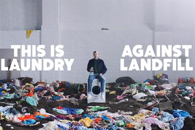 "Ecover ""Laundry against landfill"" by Uncommon Creative Studio"