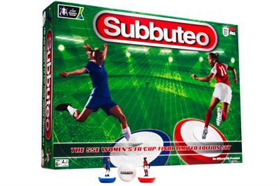 """The Football Association """"Subbuteo: Women's FA Cup final limited edition set"""" by Ogilvy UK"""