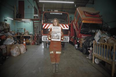 Havas creative shop Hoy develops world's first fireproof newspaper