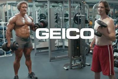 Check this out, bro: Geico offers 'more' in new workout spot