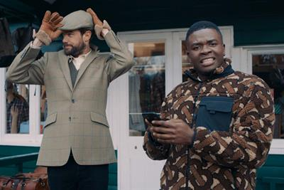 """Google """"Jack Whitehall and Michael Dapaah lost in the countryside"""" by MediaMonks"""