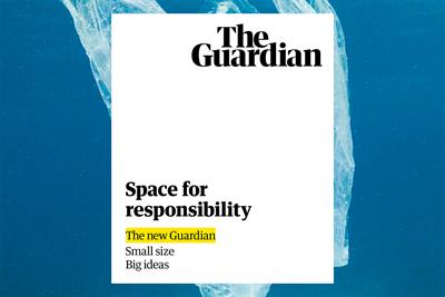 "The Guardian ""Brand campaign and tabloid launch"" by Karmarama"