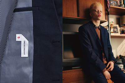 "H&M ""One / Second / Suit"" by Uncommon Creative Studio"