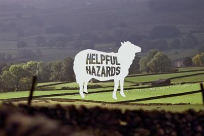 """Department for Transport """"helpful hazards"""" by Abbott Mead Vickers BBDO"""