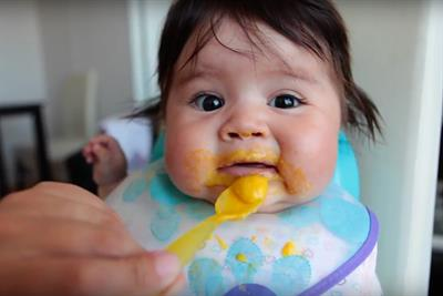 Huggies celebrates 'Baby's First Feast' for Thanksgiving