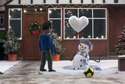"""John Lewis and Waitrose """"Give a little love"""" by Adam & Eve/DDB"""