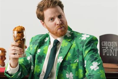 """KFC """"How to make Irish chicken even more Irish"""" by BBH London"""