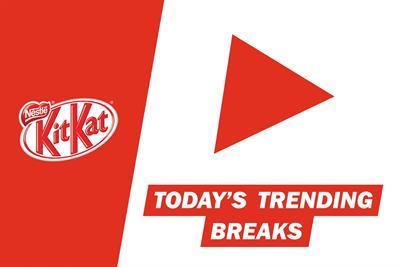 "Nestlé ""YouTube my break"" by J Walter Thompson"