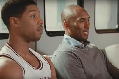 Michael B. Jordan ribs Kobe Bryant in new Apple TV spot