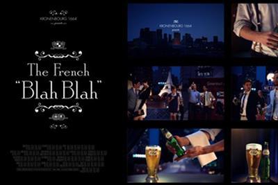 "Kronenbourg 1664 ""the French blah-blah"" by Sid Lee Paris"