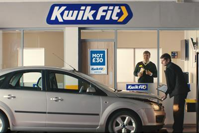 """Kwik-Fit """"the love your car deserves"""" by Adam & Eve/DDB"""