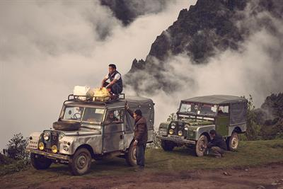 "Land Rover ""The land of Land Rovers"" by Spark44"