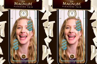 "Magnum ""Magnum pleasure fair"" by MullenLowe Profero and MediaMonks"