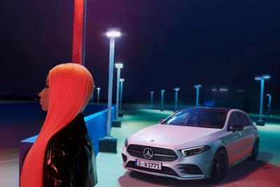 """Mercedes-Benz """"A-Class 2018: Just like you"""" by Antoni Garage"""