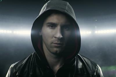 """Adidas """"there will be haters - Lionel Messi"""" by Iris"""