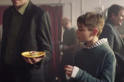 "Mr Kipling ""Little thief"" by McCann London"