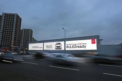 """Nissan """"ULEZ ready"""" by TBWA\London & Manning Gottlieb OMD"""