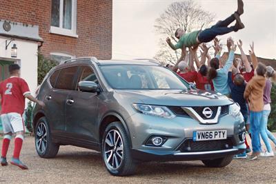 "Nissan ""Sky Sports idents"" by TBWA\London"