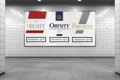 "Cancer Research UK ""Obesity is a cause of cancer too"" by Anomaly"